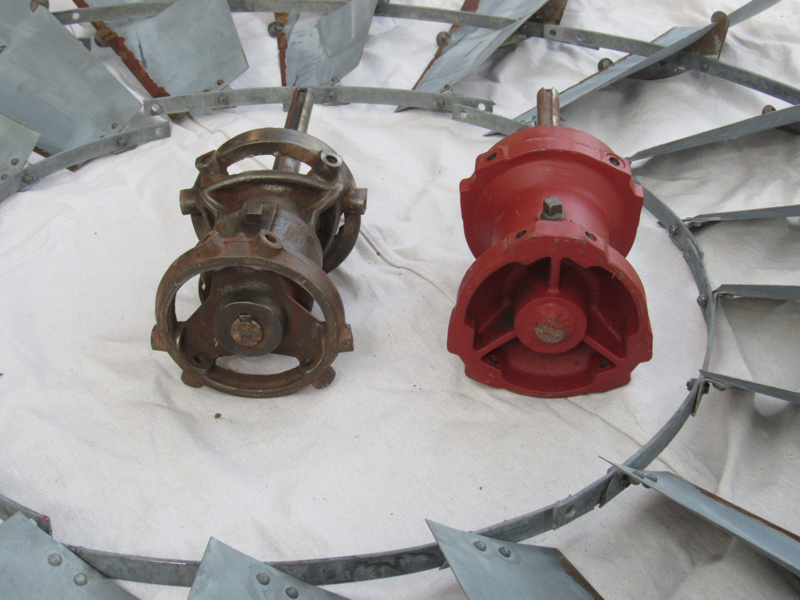 Hub & Shaft Assembly- Either one